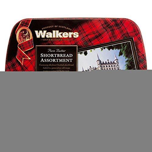 Walkers Dunrobin Castle Shortbread Tin, 28.2 Ounce Hl Biscuit