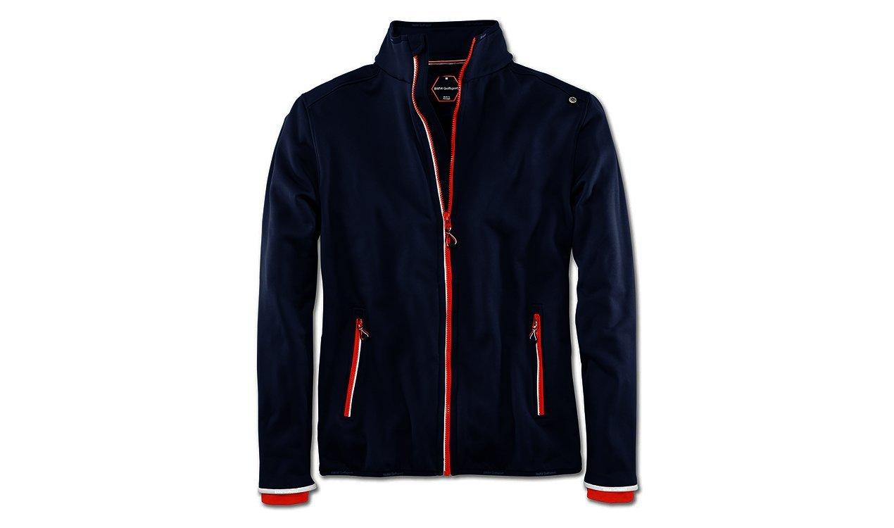 BMW Golfsport Fleece Jacket Mens Navy Blue - M