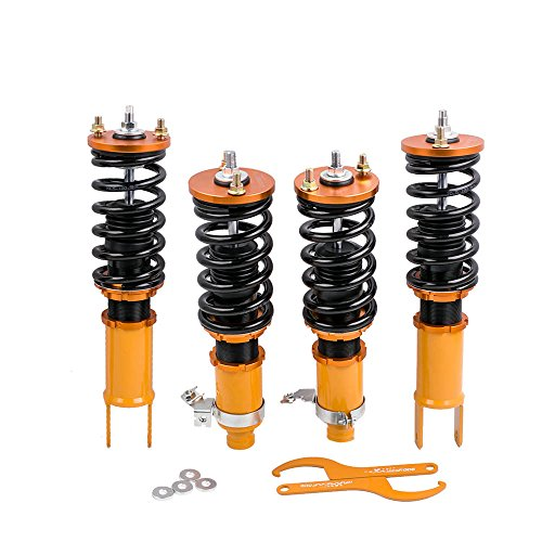 Adjustable Height Coilovers Suspension Struts for Honda Civic 96-00 EK EJ EM Coil Spring Over Shock Front Rear