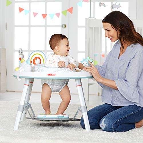 51TrmTRF91L - Skip Hop Baby's View 3-Stage Activity Center, Silver Lining Cloud, 4 Months