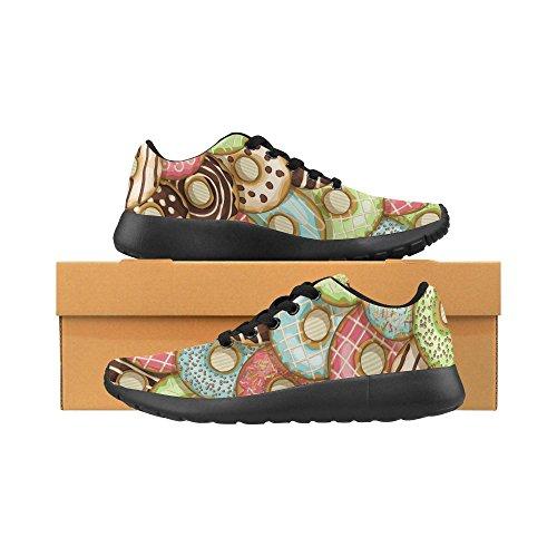 Walking Sports Sneaker 10 Running Shoes Womens Multi Lightweight Jogging InterestPrint Athletic RwAqSFYZ
