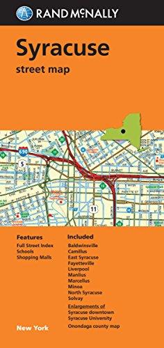 Folded Map: Syracuse Street Map (Rand - Syracuse Outlets