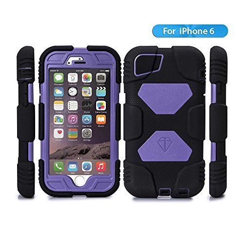 Iphone 6 Case, Aceguarder® New Hot [Shockproof] [Light Weight] [Rainproof] Extreme Duty Screen Protector Cover...