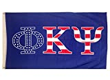 Phi Kappa Psi USA Pattern Letter Fraternity Flag Banner Sign Decor Phi Psi Review