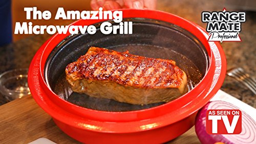 Range mate pro deluxe nonstick microwave in grill pot