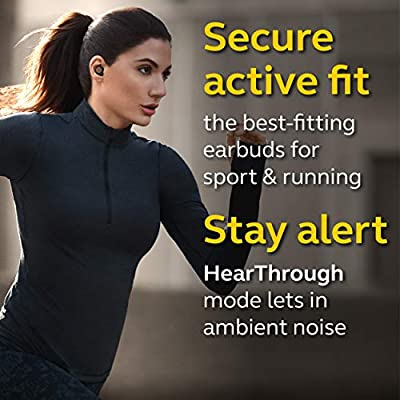 Amazon Com Jabra Elite Active 75t True Wireless Bluetooth Earbuds Copper Black Wireless Earbuds For Running And Sport Charging Case Included 4th Generation 28 Hour Battery Sport Earbuds
