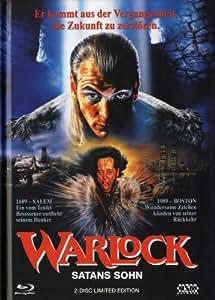 Warlock : Satans Sohn Uncut (DVD+Blu-Ray) - Mediabook [Alemania] [Blu-ray]