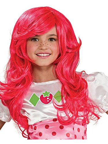 Strawberry Shortcake Child's Wig -
