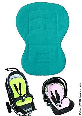 ByBoom® - Baby Sitzauflage / Sitzeinlage Moby mit Sommer- und Winterseite, Universal für Babyschale, Autokindersitz, z.B. für