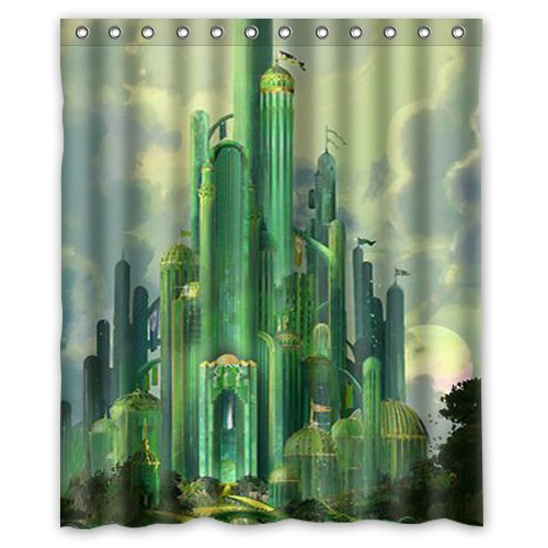 The Wizard Of Oz Shower Curtain 60x72 Inch Amazoncouk Clothing