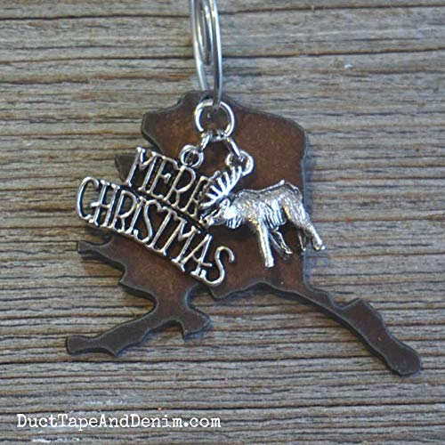 ALASKA Christmas Ornament SMALL 2