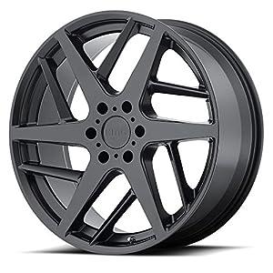 KMC Wheels KM699 Satin Black Wheel (22x9/5x127, +35mm Offset)