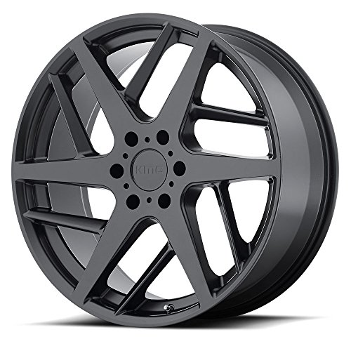 UPC 885463164380, KMC Wheels KM699 Satin Black Wheel (22x9/5x120, +35mm Offset)