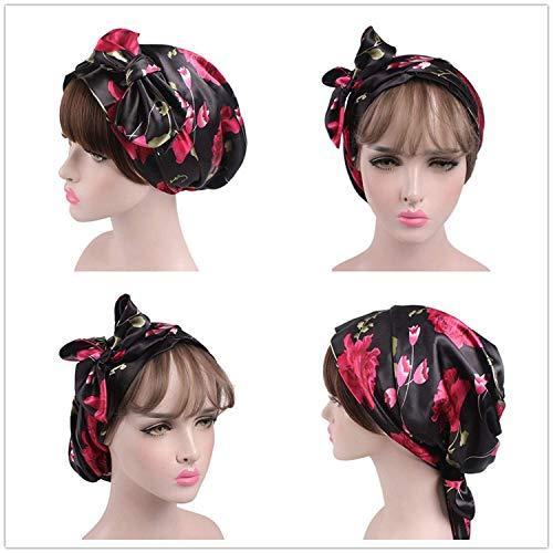 Women s Head Scarf Multipurpose Headwear for Cancer Chemo Hair Loss  Sleeping Night Cap Hair Scarves d294f0266