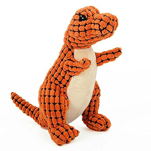 Egg Babies Dog Plush Toy (The Original Safari Plush Natural Dog Toys (Dinosaur))