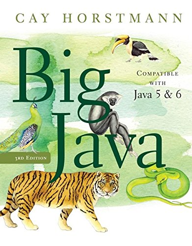 Big Java by Wiley