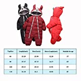 Fairy Baby Infant Boy Girl Winter Thick Romper