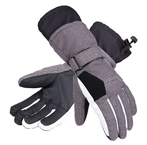 Andorra Women's Two-Tone Geometric Touchscreen Ski Glove – DiZiSports Store