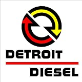 Detroit Diesel sticker decal large size NHRA IMCA USRA NTPA