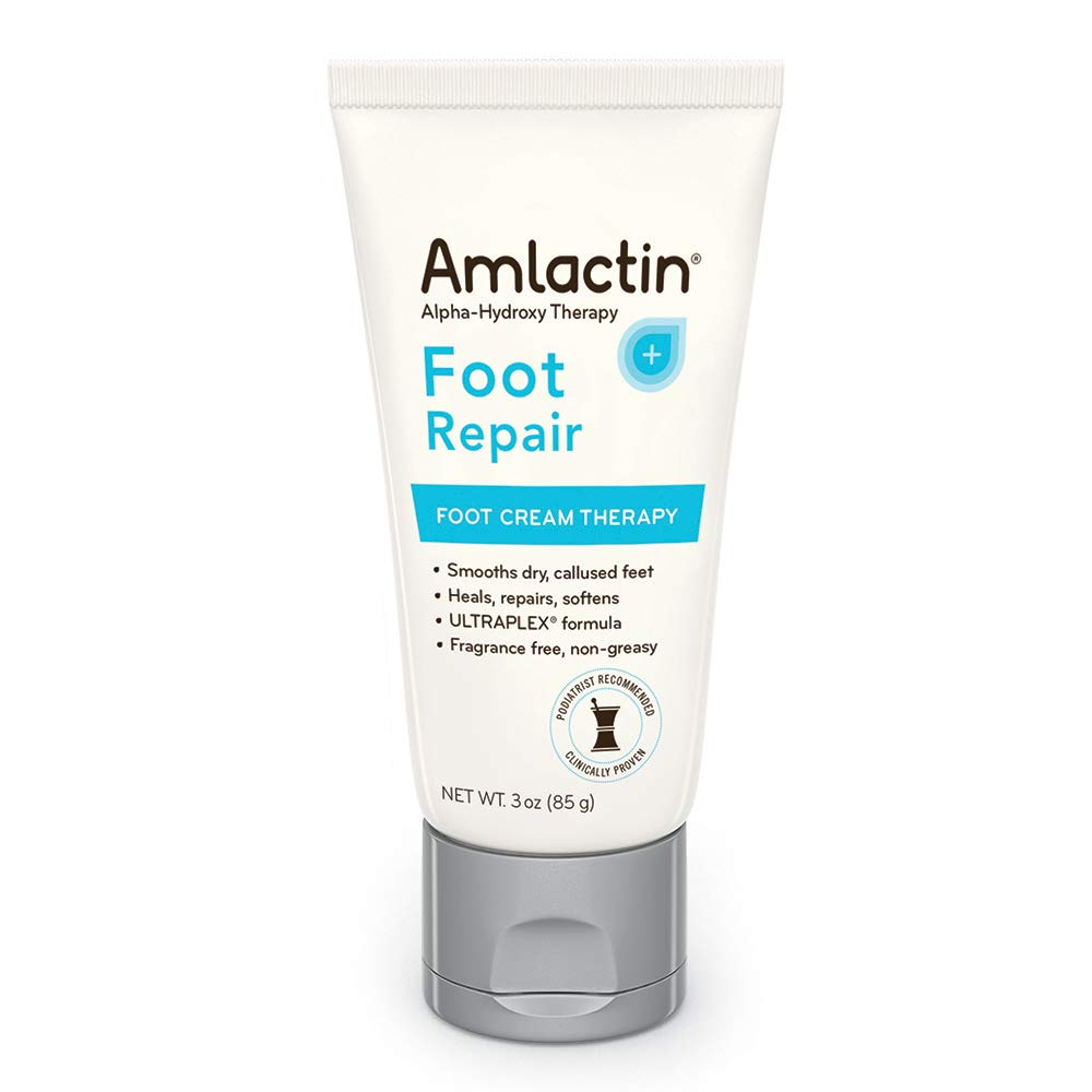 AmLactin Foot Repair Foot Cream Therapy | Smooths Rough, Dry Feet | Powerful Alpha-Hydroxy Therapy Gently Exfoliates | Lactic Acid (AHA) | Softens Tough, Dry Skin Sandoz Inc. AmL-3417