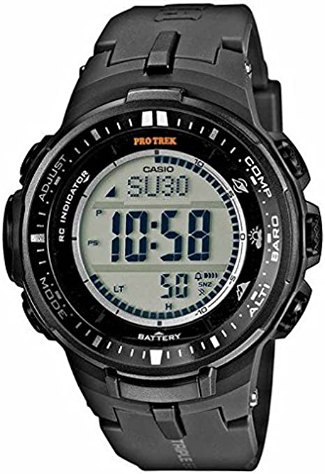 Reloj Casio Pro Trek para Hombre PRW-3000-1ER: Amazon.es: Relojes