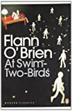 Front cover for the book At Swim-Two-Birds by Flann O'Brien