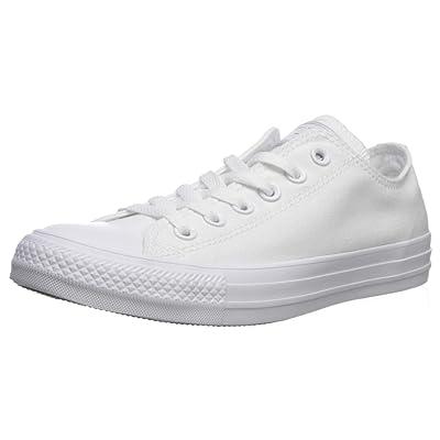 Converse Chuck Taylor All Star 2020 Seasonal Low Top Sneaker, White Monochrome, 8 | Fashion Sneakers