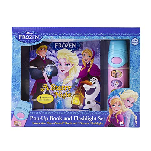 Disney Frozen - Pop-up Book and Flashlight Set - Play-a-Sound - PI Kids