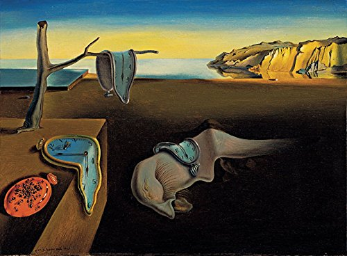Salvador Dali - The Persistence Of Memory, Size 24x32 inch, Poster art print wall ()