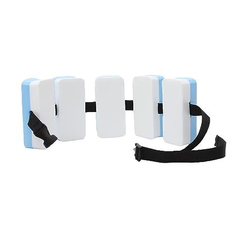 GEMVIE Flotador de Espalda para Niños Ayuda Aprendizaje Tabla de Natación Piscina 15×7×