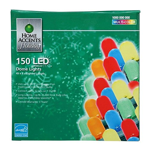 Home Accents 100 Led Dome Lights in US - 3
