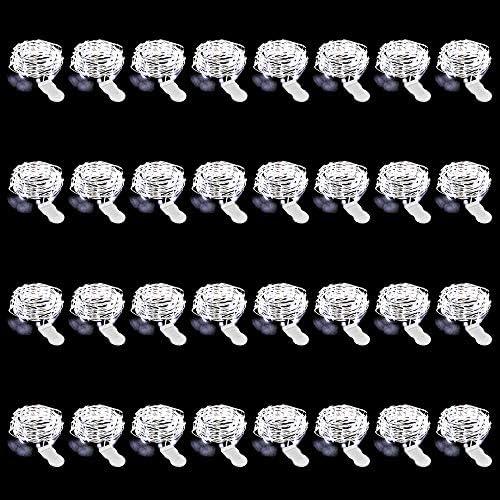 Hochzeit Party IP67 Wasserdicht Minilichterkette f/ür Innen Au/ßen Deko Garten 3 Meter 30LEDs Micro Drahtlichterkette 6000K Kaltwei/ß Kleine Fairy Light Onforu 16 St/ück LED Lichterkette Batterie