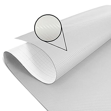 Folio adhesivo Carbono blanco 75x100cm BMW F 700 GS, R 1150 GS, R 1200