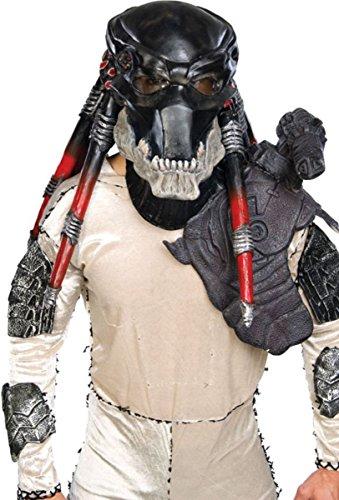 Rubie's Costume Co Black Predator Ovhd Latex Costume Costume ()
