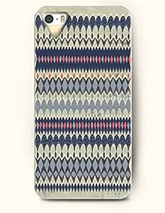 OOFIT Aztec Indian Chevron Zigzag Pattern Hard Case for Apple iPhone 4 4S Aztec Mayan Mosaic Design Case
