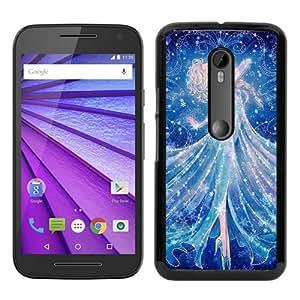 Recommended Design Moto G 3rd Case,Elsa Black Motorola Moto G 3rd Generation Customized Case