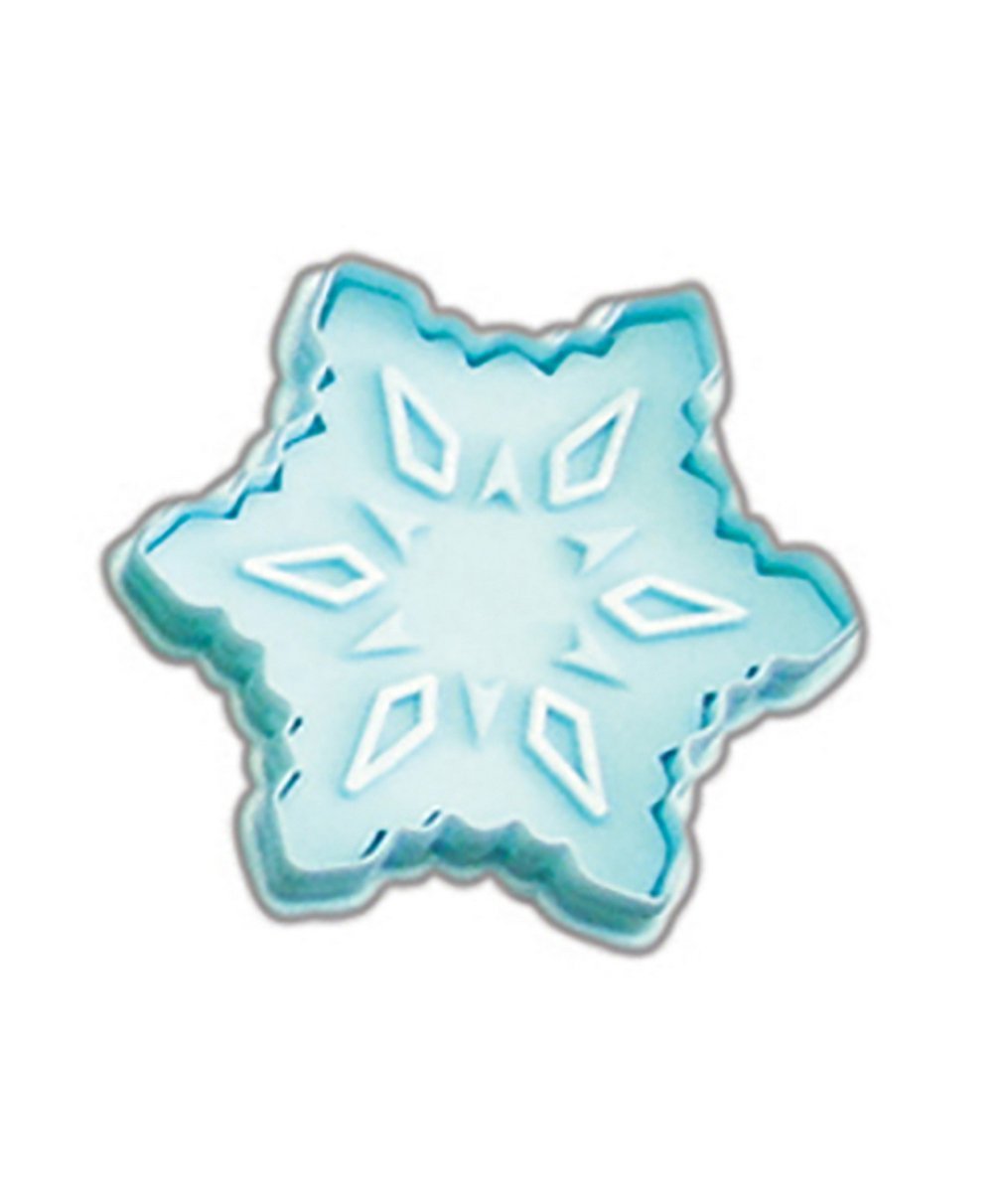 CybrTrayd RM-0403 R&M Snowflake Cookie Stamper 2.75' One size Blue