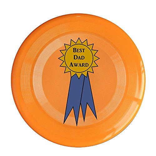 VOLTE Best Dad Award Orange Flying-discs 150 Grams Outdoor Activities Frisbee Star Concert Dog Pet Toys