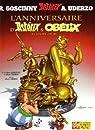 Astérix, tome 34 : L'anniversaire d'Astérix & Obélix - Le livre d'or par Uderzo