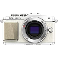 Olympus E-PL7 16MP Mirrorless Digital Camera with 3-Inch LCD (White) - International Version
