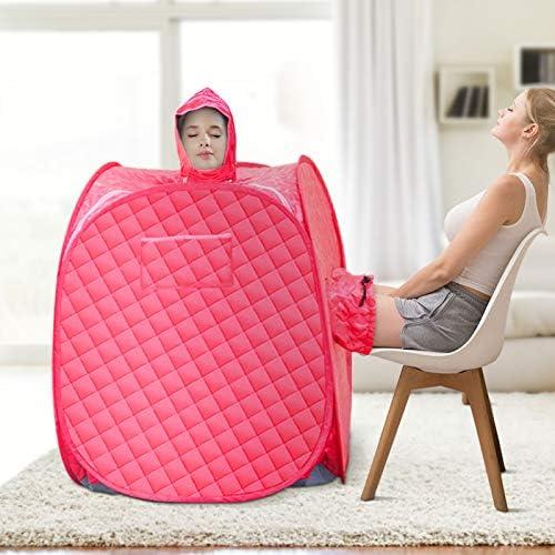 SEAAN Portable Home Sauna Personal Steam Sauna Tent