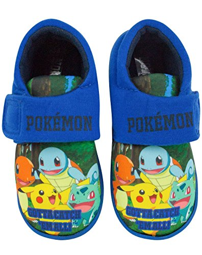 Pokemon Gotta Catch Em All Boy's Slippers