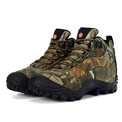 Boots Camouflage Hiking Waterproof XPETI Women's M qUaxt