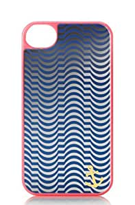 Juicy Couture Tubular Stripes w Mirror Iphone 4 /4S Hard Case YTRUT272