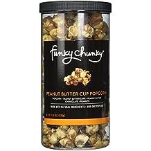 FunkyChunky Cup Popcorn, Peanut Butter, 19 Ounce
