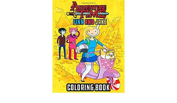 Adventure Time Finn And Jake Coloring Book: Coloring Book For Kids,  Cartoon.: Nakato, Hyuji: 9798681397885: Amazon.com: Books