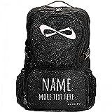Custom Name/Text Cheer Bag: Nfinity Sparkle Backpack Bag