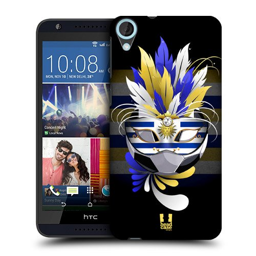 Head Case Designs Uruguay Football Carnival Protective Snap-on Hard Back Case Cover for HTC Desire 820