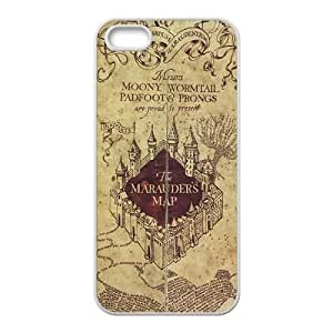 The Marauders Map Cell Phone Case for iPhone 5S