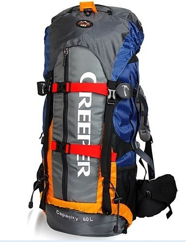 Tourenrucks?cke / Wandern Tagesrucks?cke / Radfahren Rucksack ( Blau , 60 L) Wasserdicht / Wasserdichter Verschlu? / Reflexstreifen /